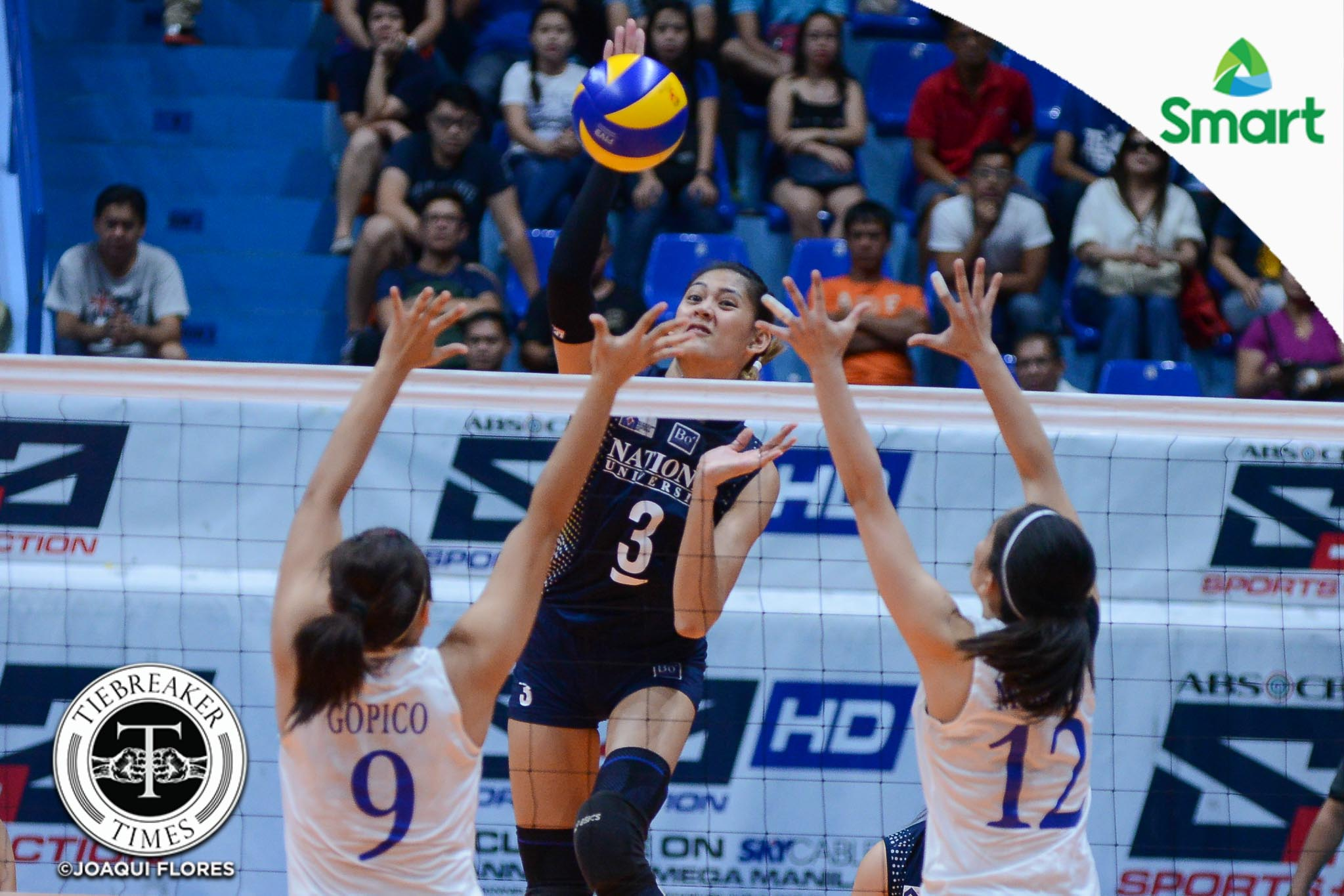 UAAP-79-ADMU-vs.-NU-Santiago-3738 Babes Castillo taking same approach in Seniors foray News NU UAAP Volleyball  - philippine sports news