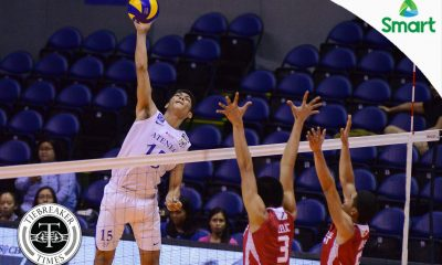 Tiebreaker Times Blue Eagles roll past depleted Red Warriors for 12th win ADMU News UAAP UE Volleyball  Vincent Magdaong UE Men's Volleyball UAAP Season 79 Men's Volleyball UAAP Season 79 Ruel Pascual Rex Intal Oliver Almadro Marck Espejo Manuel Sumanguid Ish Polvorosa Clifford Inoferio Ateneo Men's Volleyball