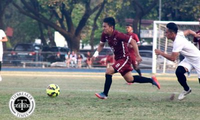 Tiebreaker Times Borlongan brace plasters UP shortcomings in UE win Football News UAAP UE UP  UP Men's Football UE Men's Football UAAP Season 79 Men's Football UAAP Season 79 Sebastian Patangan Mar Diano Jose Anton Yared JB Borlongan Frank Rieza Fitch Arboleda Andres Gonzales
