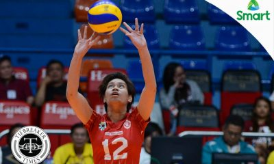 Tiebreaker Times Baliton letting critics have their day, motivated to make National Team News UAAP UE Volleyball  UE Women's Vollyball UAAP Season 79 Women's Volleyball UAAP Season 79 Roselle Baliton