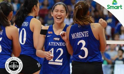 Tiebreaker Times No tryout invitations for Ateneo players says team officials ADMU News UAAP Volleyball  UAAP Season 79 Women's Volleyball UAAP Season 79 Tony Boy Liao Ricky Palou Maddie Madayag Kat Tolentino Jia Morado Ateneo Women's Volleyball