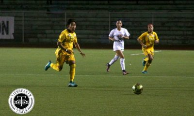 Tiebreaker Times Kadil brace powers Lady Tamaraws to upset win over Lady Eagles ADMU FEU Football News UAAP  UAAP Season 79 Women's Football UAAP Season 79 Mariane Caparros Let Dimzon Joy Chavez Jovelle Sudaria John Paul Merida FEU Women's Football Camille Rodriguez Brigette Kadil Ateneo Women's Football