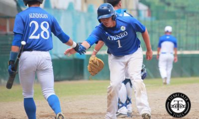 Tiebreaker Times Tantuico breaks out of slump, powers league-leading Ateneo past NU ADMU Baseball News NU UAAP  UAAP Season 79 Baseball UAAP Season 79 Saki Bacarisas Randy Dizer Radito Banzon NU Baseball Miguel Dumlao Javi Macasaet Gino Tantuico Floro Malit Clarence Caasalan Ateneo Baseball