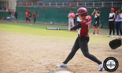 Tiebreaker Times Lady Maroons stun Tiger Softbelles to arrest six-game slide News Softball UAAP UP UST  UST Softball UP Softball UAAP Season 79 Softball UAAP Season 79 Sandy Barredo Ruby Latican Keith Ferrer Gelai Peñales Ella Martinez Alex Causapin