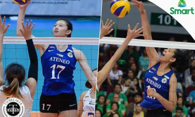 Tiebreaker Times Tolentino, Madayag suprised to be included in National Team pool ADMU News UAAP Volleyball  UAAP Season 79 Women's Volleyball UAAP Season 79 Maddie Madayag Kat Tolentino Ateneo Women's Volleyball
