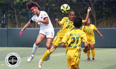 Tiebreaker Times FEU, UP finals dreams thrown in tatters after stalemate FEU Football News UAAP UP  UP Women's Football UAAP Season 79 Women's Football UAAP Season 79 Nic Adlawan Let Dimzon Joy Chavez Jovelle Sudaria FEU Women's Football BG Sta. Clara Andres Gonzales