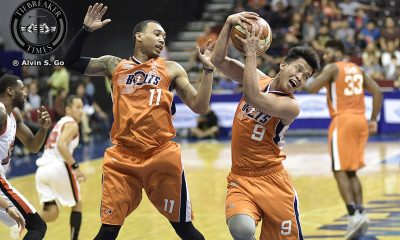 Tiebreaker Times Amer anchors Bolts as Meralco hands Alaska first loss Basketball News PBA  Simon Enciso PBA Season 42 Norman Black Meralco Bolts Jared Dillinger Cory Jefferson Calvin Abueva Alex Stepheson Alex Compton Alaska Aces 2017 PBA Commissioners Cup
