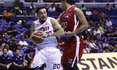 Tiebreaker Times Meralco locks down Blackwater in the fourth to notch sixth win Basketball News PBA  PBA Season 42 Norman Black Mike DiGregorio Meralco Bolts Leo Isaac KG Canaleta Kelly Nabong Jared Dillinger Greg Smith Blackwater Elite Alex Stepheson 2017 PBA Commissioners Cup