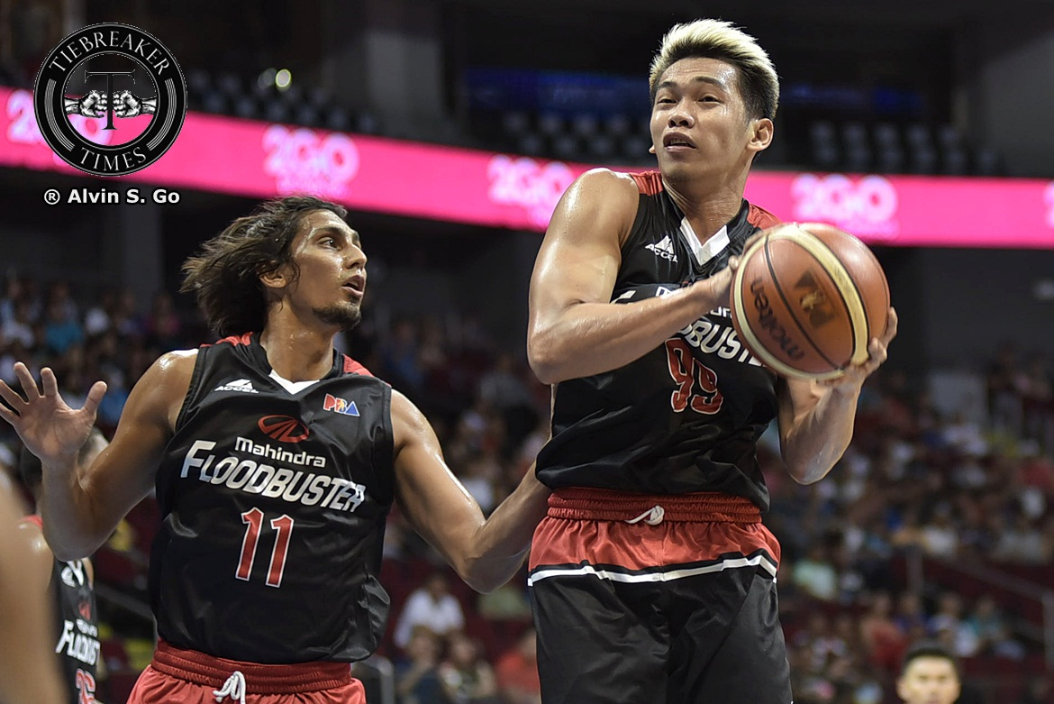 Tiebreaker Times After almost giving up, Corpuz happy to finally make it to the pros Basketball News PBA  PBA Season 42 Mahindra Floodbuster Jackson Corpuz 2017 PBA Commissioners Cup