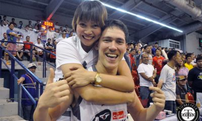 Tiebreaker Times Maraño fires up Bolick in Cignal-San Beda's championship-clincher Basketball News PBA D-League PSL SBC  Robert Bolick F2 Logistics Cargo Movers Cignal-San Beda Hawkeyes Aby Marano 2017 PBA D-League Season 2017 PBA D-League Aspirants Cup