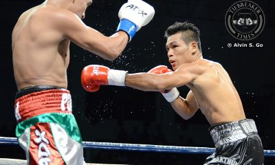 Tiebreaker Times Arthur Villanueva scores 4th round knockdown, but succumbs to WBC champion Boxing News  Arthur Villanueva ALA Promotions