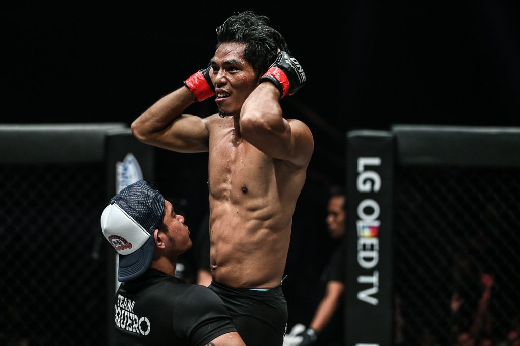 Philippine Sports News - Tiebreaker Times Eugene Toquero to leave everything on the line against Ma Hao Bin Mixed Martial Arts News ONE Championship  ONE: Hero's Dream Eugene Toquero