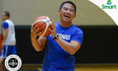 Tiebreaker Times Chot Reyes 'very satisfied' with SMART Gilas' Tagaytay camp 2019 FIBA World Cup Qualifiers Basketball Gilas Pilipinas News  Chot Reyes 2019 FIBA World Cup Qualifiers Group B