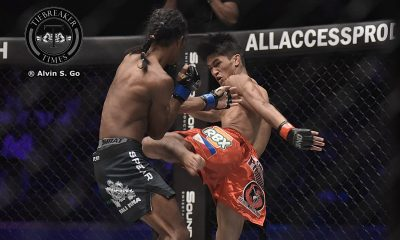 Tiebreaker Times Kingad makes it five in a row; Toquero's skid continues Mixed Martial Arts News ONE Championship  Xie Bin Stefer Rahardian ONE: Kings of Destiny Muhammad Aiman Eugene Toquero Danny Kingad Chan Rothana