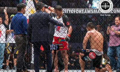 Tiebreaker Times Folayang honored to have Pacquiao on his side Mixed Martial Arts News ONE Championship  ONE: Kings of Destiny Manny Pacquiao Eduard Folayang