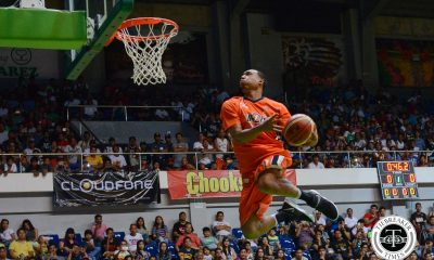 Tiebreaker Times Newsome edges out Forrester to win Slam Dunk crown Basketball News PBA  Rey Guevarra Marion Magat Jammer Jamito James Forrester Chris Newsome 2017 PBA All-Star Week