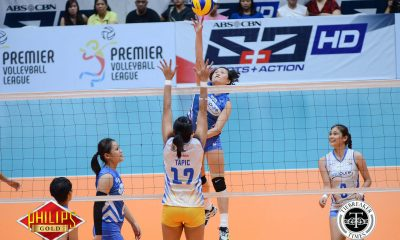 Tiebreaker Times New-look Bali Pure outlasts Air Force in season-opener News PVL Volleyball  Roger Gorayeb Lizlee Ann Pantone Joy Cases Jocemer Tapic Jerrili Malabanan Jasper Jimenez Jasmine Nabor Grethcel Soltones Bali Pure Purest Water Defenders Air Force Jet Spikers 2017 PVL Women's Reinforced Conference 2017 PVL Season