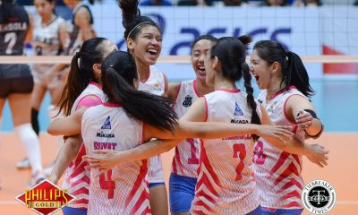 Tiebreaker Times Valdez takes facial from buddy Gervacio in stride News PVL Volleyball  Perlas Lady Spikers Dzi Gervacio Creamline Cool Smashers Alyssa Valdez 2017 PVL Women's Reinforced Conference 2017 PVL Season