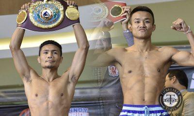 Tiebreaker Times Nantapech looks to spoil Nietes' dream Boxing News  Pinoy Pride 40 Komgrich Nantapech ALA Promotions