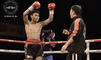 Tiebreaker Times Magsayo retains WBO International crown in dominant fashion; Santisima thrills Boxing News  Pinoy Pride 41 Melvin Jerusalem Mark Magsayo KJ Cataraja Joey Canoy Jeo Santisima Goodluck Mrema Daniel Diaz Albert Pagara ALA Promotions
