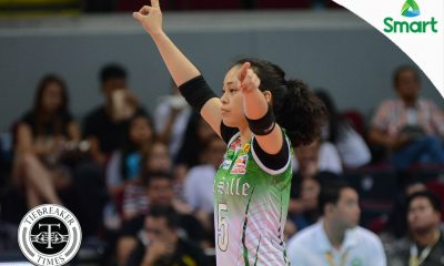 Tiebreaker Times Nothing special, only hard work and preparation key to Macandili's success DLSU News UAAP Volleyball  UAAP Season 79 Women's Volleyball UAAP Season 79 DLSU Women's Volleyball Dawn Macandili