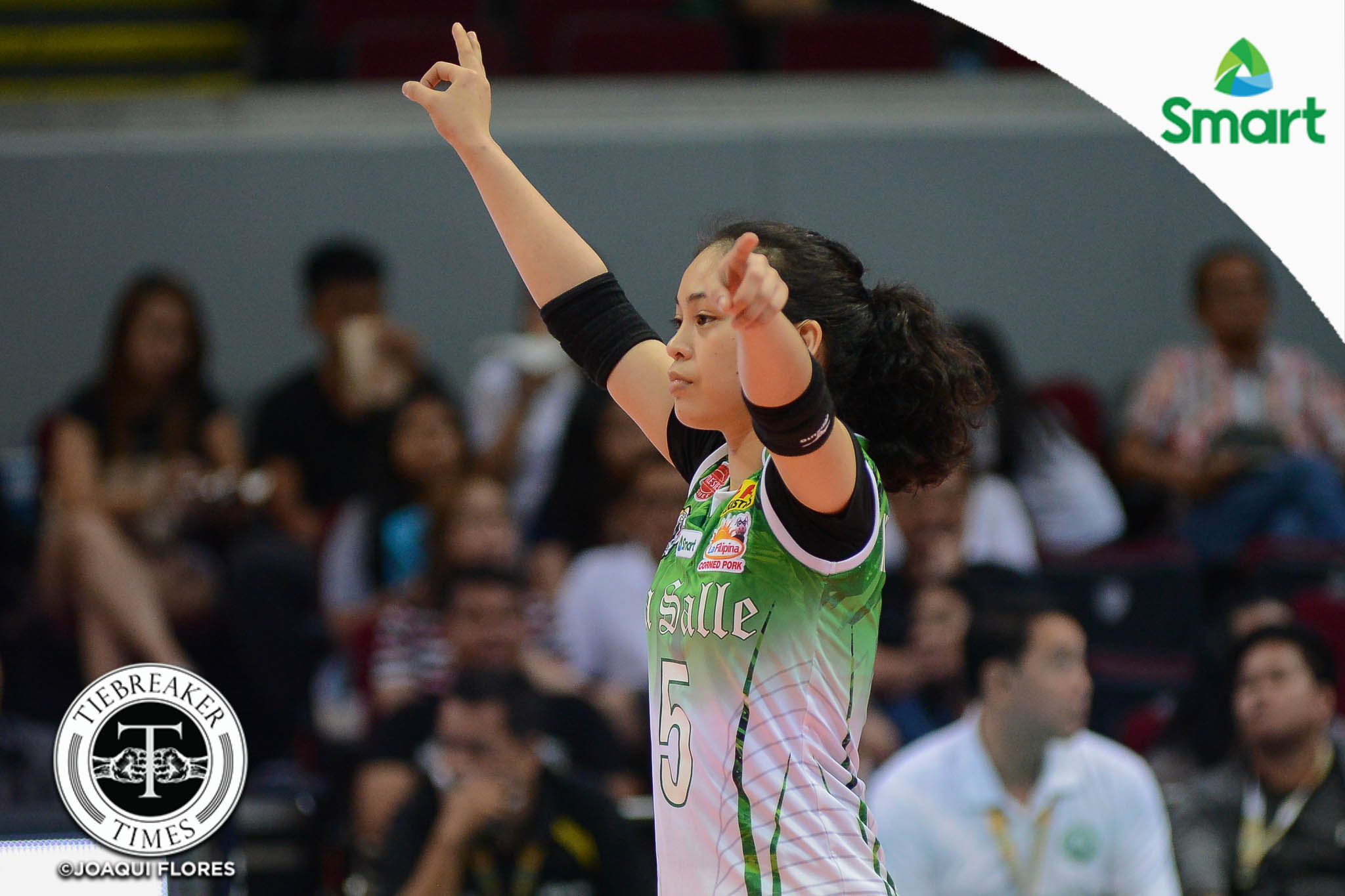 Philippine Sports News - Tiebreaker Times Nothing special, only hard work and preparation key to Macandili's success DLSU News UAAP Volleyball  UAAP Season 79 Women's Volleyball UAAP Season 79 DLSU Women's Volleyball Dawn Macandili