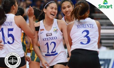 Tiebreaker Times Jia Morado auctions Ateneo jersey to help out COVID-19 frontliners ADMU News UAAP Volleyball  UAAP Season 79 Women's Volleyball UAAP Season 79 Jia Morado Coronavirus Pandemic Ateneo Women's Volleyball