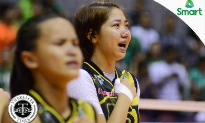 Tiebreaker Times Cortez fulfills dream of playing for UST News UAAP UST Volleyball  UST Women's Volleyball UAAP Season 79 Women's Volleyball UAAP Season 79 Chloe Cortez