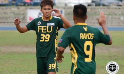 Tiebreaker Times Tamaraws' outburst seals semis return AdU FEU Football News UAAP  Vince Santos Val Jurao UAAP Season 79 Men's Football UAAP Season 79 Nolan Manito Micheal Menzi Justin Calamba FEU Men's Football Ejike Ugwoke Dave Parac Carl Viray Alex Rayol Adamson Men's Football