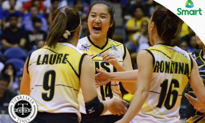 Tiebreaker Times Tin Francisco seizes the moment News UAAP UST Volleyball  UST Women's Volleyball UAAP Season 79 Women's Volleyball UAAP Season 79 Tin Francisco