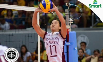 Tiebreaker Times UP needs to move on, focus on do-or-die Wednesday says Estrañero News UAAP UP Volleyball  UP Women's Volleyball UAAP Season 79 Women's Volleyball UAAP Season 79 Arielle Estranero