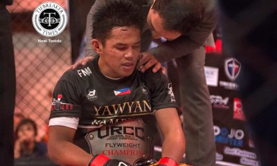 Tiebreaker Times CJ De Tomas signs with UFC, to make debut in Singapore Mixed Martial Arts News UFC URCC  UFC Fight Night 111 Naoki Inoue CJ De Tomas