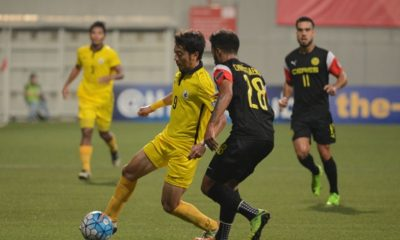 Tiebreaker Times Ceres-Negros brushes off Tampines to secure zonal playoffs spot AFC Cup Football News PFL  Yasir Hanapi Tampines Rovers Roland Muller Risto Vidakovic Kota Kawase Jürgen Raab Izwan Mahbud Fernando Rodriguez Ceres-Negros FC Bienvenido Marañon 2017 AFC Cup Group F 2017 AFC Cup