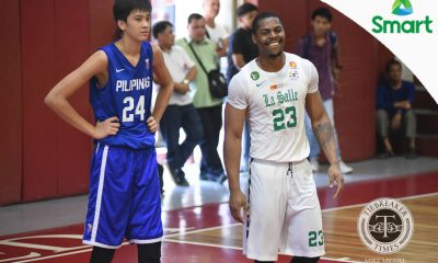 Tiebreaker Times VIDEO: Batang Gilas gains valuable experience against La Salle, collegiate teams 2017 SEABA Championship 2017 SEABA U-16 Basketball DLSU Gilas Pilipinas News  Mike Oliver Kai Sotto DLSU Men's Basketball Batang Gilas 2017 Fr. Martins Cup
