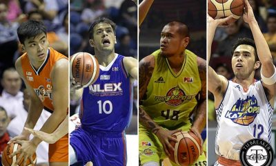 Tiebreaker Times TNT, GBP, Meralco, NLEX figure in blockbuster trade Basketball News PBA  TNT Katropa Sean Anthony PBA Transactions PBA Season 42 NLEX Road Warriors Meralco Bolts Larry Fonacier JR Quinahan Jonathan Grey Globalport Batang Pier Garvo Lanete Bradwyn Guinto Anthony Semerad 2019 PBA Draft 2017 PBA Draft 2017 PBA Commissioners Cup