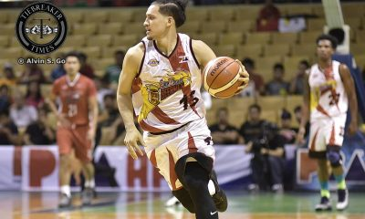 Tiebreaker Times Known scorer Lassiter now on the record books for steals Basketball News PBA  San Miguel Beermen PBA Season 42 Mario Lassiter 2017 PBA Commissioners Cup