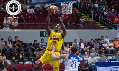 Tiebreaker Times Ratliffe returns, brings instant impact in Star's win over TNT Basketball News PBA  TNT Katropa Star Hotshots Ricardo Ratliffe PJ Simon PBA Season 42 Paul Lee Nash Racela Kris Rosales Kelly Williams Donté Greene Chito Victolero 2017 PBA Commissioners Cup