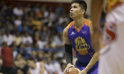 Tiebreaker Times Clutch Pogoy honored to have played against 'idol' James Yap Basketball News PBA  TNT Katropa Roger Pogoy PBA Season 42 2017 PBA Commissioners Cup