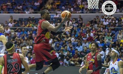 Tiebreaker Times After 10 games, Rhodes finally gets accustomed to whistles Basketball News PBA  San Miguel Beeermen PBA Season 42 Charles Rhodes 2017 PBA Commissioners Cup
