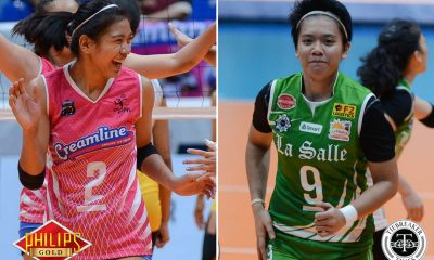 Tiebreaker Times Though rooting for Ateneo, Valdez will be happy for Fajardo no matter what DLSU News PVL UAAP Volleyball  UAAP Season 79 Women's Volleyball Kim Fajardo Creamline Cool Smashers Alyssa Valdez 2017 PVL Women's Reinforced Conference 2017 PVL Season