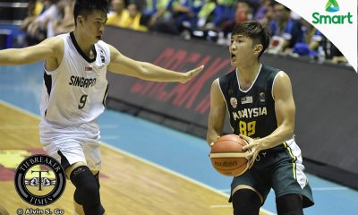 Tiebreaker Times Malaysia evades Singapore to snap three-game skid 2017 SEABA Championship 2017 SEABA Seniors Basketball News  Singapore (Basketball) Malaysia (Basketball) Goh Cheng Huat Franco Arsego Delvin Goh Chun Hong Ting