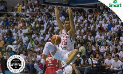 Tiebreaker Times Used to playing in front of huge crowds, Japeth Aguilar unfazed by Gilas' closed-door game 2019 FIBA World Cup Qualifiers Basketball Gilas Pilipinas News  Japeth Aguilar Gilas Elite 2019 FIBA World Cup Qualifiers