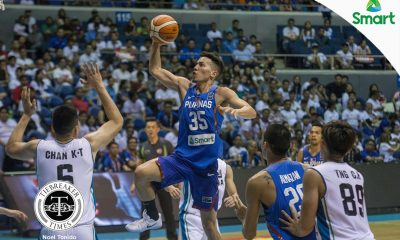 Tiebreaker Times Wright knows he has to fill shoes of former Gilas snipers 2017 SEABA Championship 2017 SEABA Seniors Basketball Gilas Pilipinas News  Matthew Wright