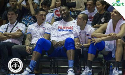 Tiebreaker Times Gilas opts to rest Blatche to prep for Indonesia showdown 2017 SEABA Championship 2017 SEABA Seniors Basketball Gilas Pilipinas News  Chot Reyes Andray Blatche