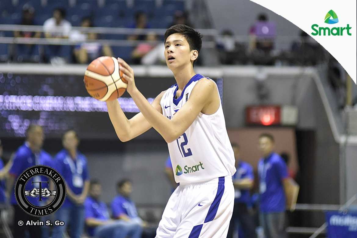 Philippine Sports News - Tiebreaker Times Kai Sotto has yet to feel pressure after being named to 23 for 2023 list Basketball Gilas Pilipinas News  Kai Sotto 2023 FIBA World Cup