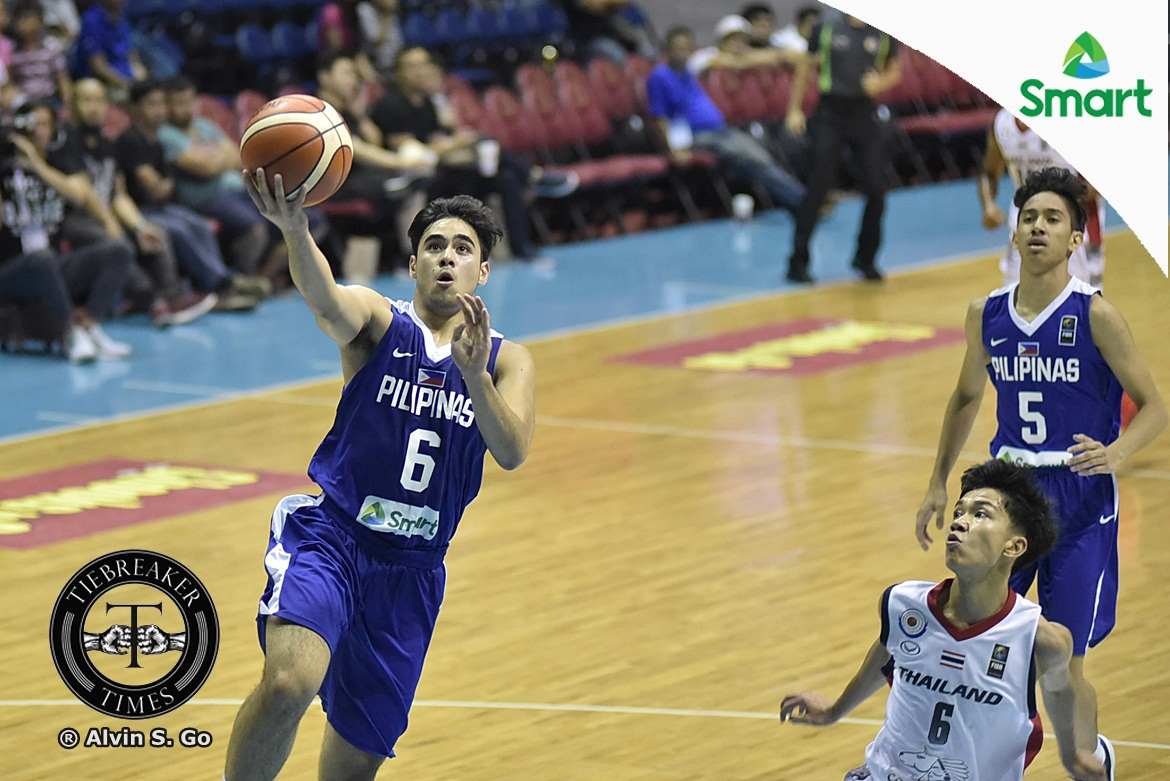 2017-SEABA-U16-Philippines-def-Thailand-Mclaude-Guadana The Road Less Taken: Mac Guadaña looks back on daily grind from Tagaytay to Meralco Gym Basketball Gilas Pilipinas News  - philippine sports news