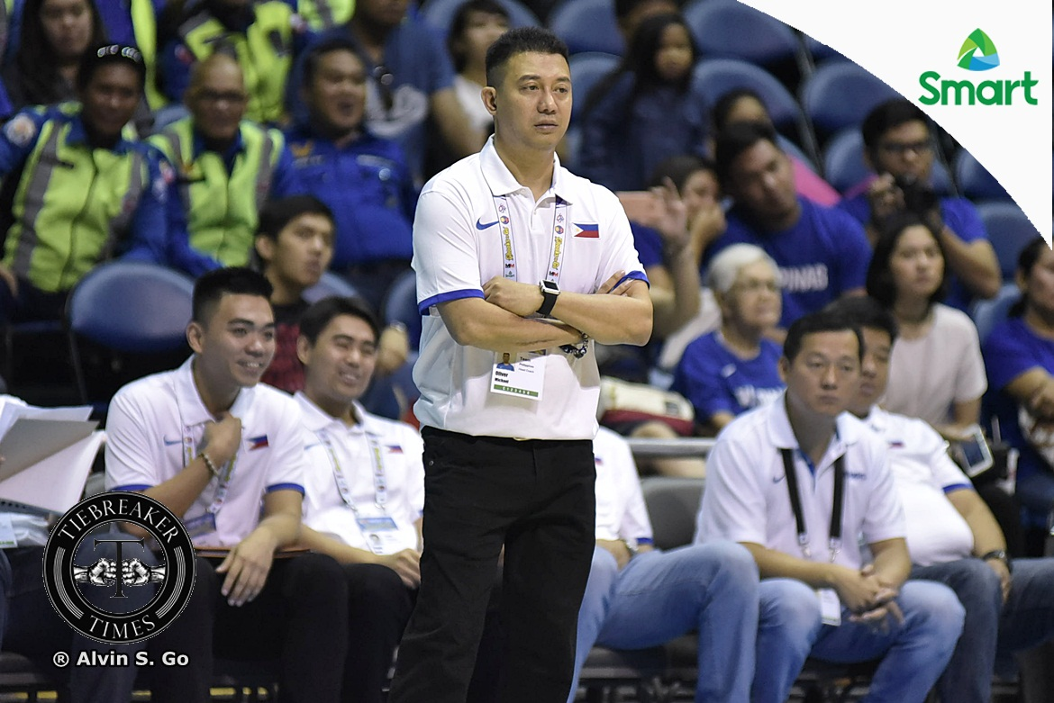 Tiebreaker Times Oliver far from satisfied with Batang Gilas' win over Indonesia 2017 SEABA Championship 2017 SEABA U-16 Basketball Gilas Pilipinas News  Mike Oliver Batang Gilas
