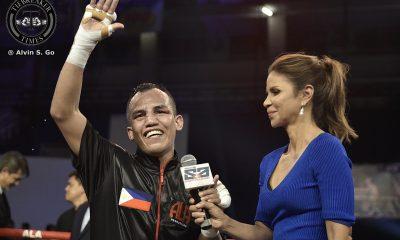 Tiebreaker Times Melindo stops Yaegashi to become World Champion Boxing News  Milan Melindo ALA Promotions Akira Yagaeshi