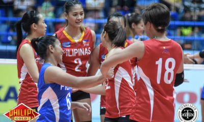 Tiebreaker Times Jaja Santiago out of SEA Games pool, Gonzaga, Madayag added 2019 SEA Games News Volleyball  Tots Carlos Rose Doria Philippine Women's National Volleyball Team Maddie Madayag Jovelyn Gonzaga Jerrili Malabanan Jema Galanza Jaja Santiago Gel Cayuna Celine Domingo 2019 SEA Grand Prix 2019 SEA Games - Volleyball