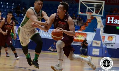 Tiebreaker Times UP fends off Saint Benilde to go to 2-0 Basketball CSB News UP  UP Men's Basketball TY Tang Rob Ricafort Rene Sta Maria Paul Desiderio Edward Dixon Clement Leutcheu Bo Perasol Benilde Seniors Basketball 2017 Filoil Premier Cup